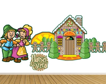 Hansel and Gretal Fairy Tale Wall Graphic