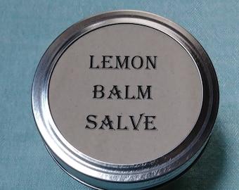 Lemon Balm salve