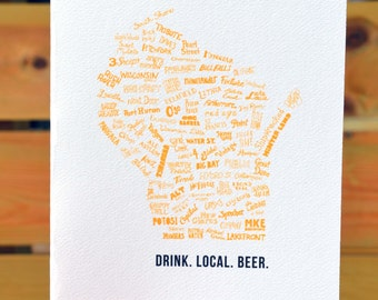 Drink Local Beer (Wisconsin)