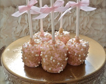 Edible Wedding Favor Marshmallow Pops Frost The Cake