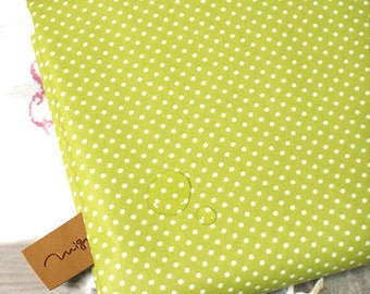 Laminated Cotton Blend 2mm Tiny Dot Series in Olive 46214