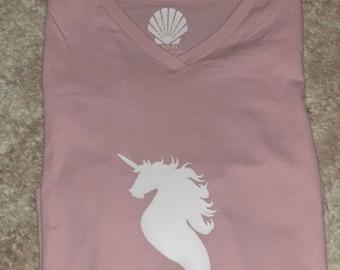 Unicorn mermaid shirt