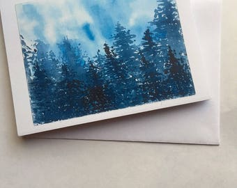Christmas Cards/All Occasion Cards - Silent Night, Includes 10 Cards & Envelopes, Handmade, Christmas, Notecards