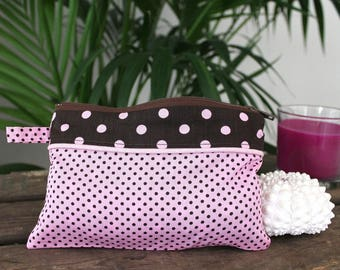 Cotton pouch handmade ANAIS