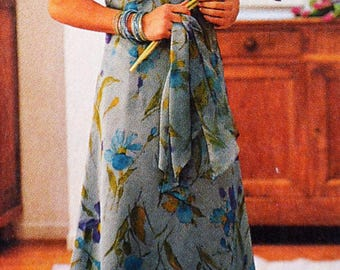 Modes & work June 2001 - girls dress sewing pattern