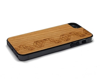 iPhone 5 Case Wood DNA, Wood iPhone SE Case, iPhone 5S Case Wood