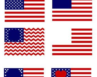 USA Flag SVG, 4th of July Monogram,  American Flag SVG, Patriotic Monogram svg, United States svg,for CriCut Silhouette  svg jpg png dxf