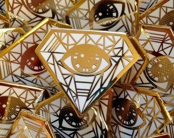 Eye Sharpener Diamond Pin