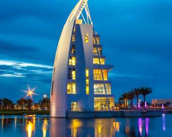 Travel Port Canaveral Florida Exploration Tower Destination - Fine Art Photography Print Picture
