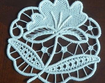 Romanian Point Lace Small Doilies KITS