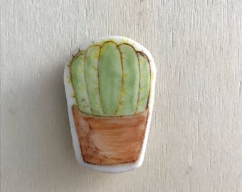 Cactus Ceramic Magnet