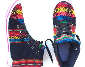 Vintage Peruvian Manta Sneakers
