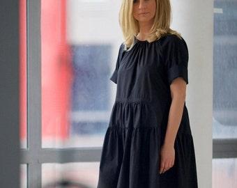 Spring Dress, Minimalist Dress, Tunic Dress, Little Black Dress, Mini Dress, Flare Dress, Oversized Dress, Open Back Dress, Fashion Dress