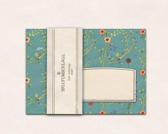 10 x envelope flower meadow