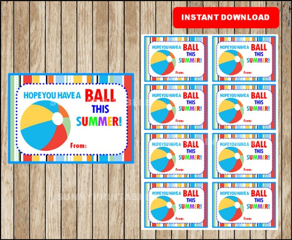 graphic regarding Have a Ball This Summer Printable referred to as 100+ Include A Ball This Summer months Printable yasminroohi