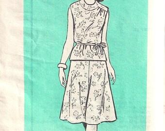 UNCUT Marian Martin 2 Piece Dress Bust 40