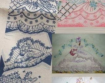 3* Eyelet pillowcase Southern Belle transfer pattern mo696