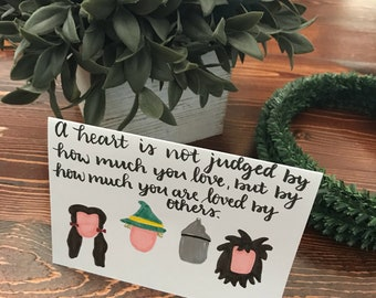 The Wizard of Oz inspired Greeting Card
