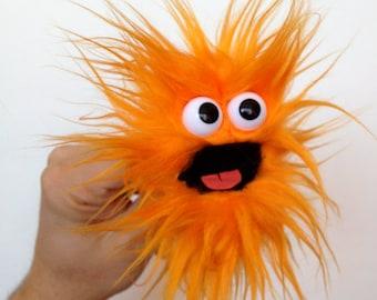 Clip Monster - tangerine