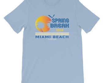 Spring Break 2018 Florida Miami Beach Florida Party T-Shirt