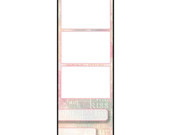 Photo Strip Template for Photo Booths | 2081