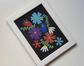 "original illustration ""flower series, pt. IV"""