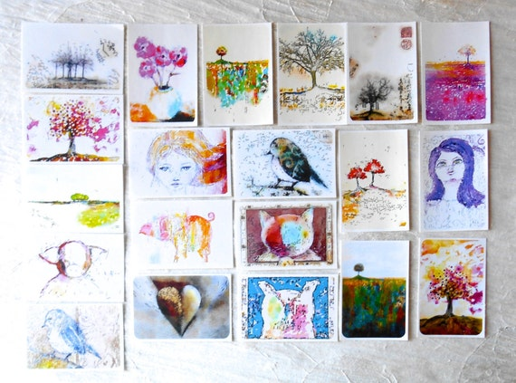 Mixed 1 -  Large Fine Art Stickers