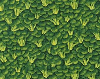 Broccolli Farmers Market RJR fabric 1/2 yard