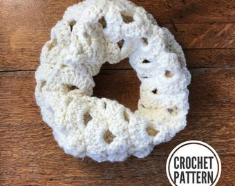The Arcade Cowl **Pattern Only. Crochet Cowl Pattern. Scarf Pattern. Easy Crochet Scarf Pattern. Cowl Scarf Pattern. Easy Cowl Scarf Pattern