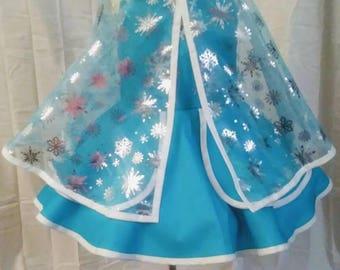 Inspired Elsa Dress