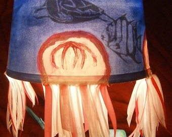 Under The Sea, Jelly Fish, and Stingray Lamp