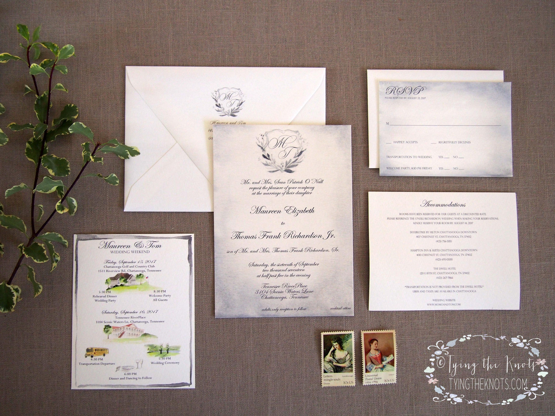 Formal Wedding Invitations Custom Invites Wedding Suite