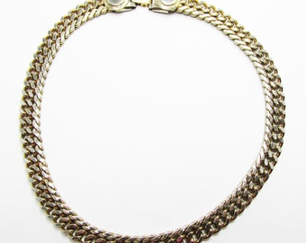 Vintage - Collectible - Link Necklace - Jewelry - Gold - Gold Filled - Necklace - Classic - Modern - Minimalist - Super - Women - Gift