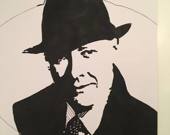 Raymond Reddington Canvas