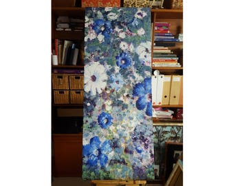 Rhapsody In Blue | Large canvas