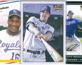 KANSAS CITY ROYALS Baseball Team Lot - 250 Assorted Cards