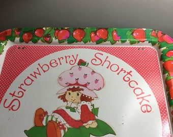 Vintage 1981 Strawberry Shortcake Tv Tray