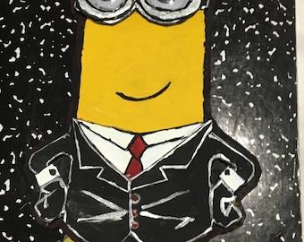 Suit up minion