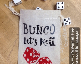 Bunco Dice Pouch