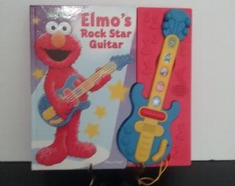 Sesame Street - Elmo's Rock Star Guitar - Play A Song Book!
