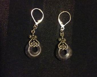 Beautiful Vintage Pierced Earrings