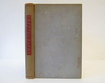 Vintage 1943 Cryptography by Laurence Dwight Smith, The Science of Secret Writing, First Edition, W W Norton & Company, Inc., Hardcover Book