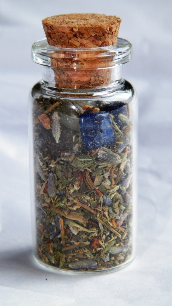 Anti-Depression Aromatherapy Witch Bottle Hand Made Herbal Blend Ritual Supply