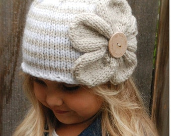 Knitting PATTERN-The Riyan Cloche' (Toddler, Child, Adult sizes)