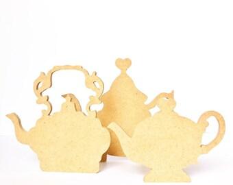 Teapot for decoration