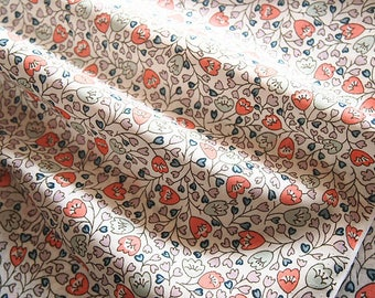 Pattern type cotton fabric Liberty floral 133 * 50 cm