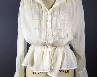 1910s teens armistice middy blouse