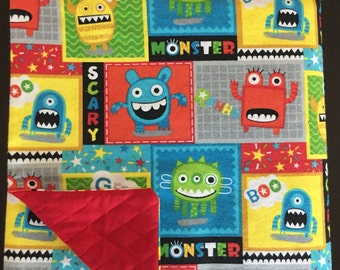 Fun, Funny Monster Weighted Blanket MTO