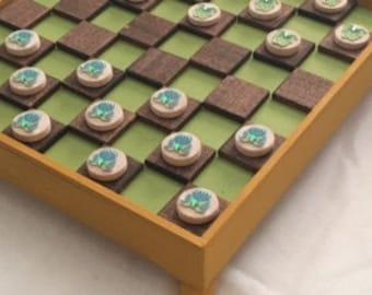 Froggy Checker Board