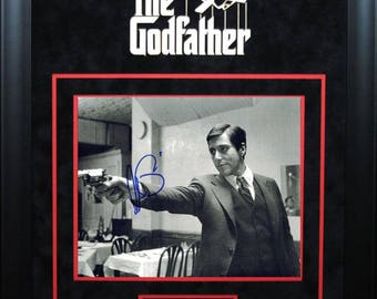 The Godfather - Signed by Al Pacino - Framed Artist Series